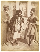 view A Dervish and Two Men digital asset: A Dervish and Two Men [graphic]