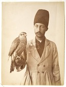 view Man with Hunting Falcon digital asset: Man with Hunting Falcon [graphic]