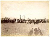 view Public Hanging of Mirza Riza Kirmani, August 12, 1896 digital asset: Public Hanging of Mirza Riza Kirmani, August 12, 1896 [graphic]