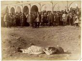 view Executed Prisoner in a Public Square digital asset: Executed Prisoner in a Public Square [graphic]