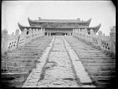 view Kaifeng, Longting, steps ascending terraces, 1910 digital asset number 1