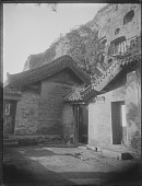 view Longmen, Binyang Caves, courtyard, 1910 digital asset number 1