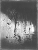 view Longmen, Binyang Caves, South cave, attendant figure, 1910 digital asset number 1