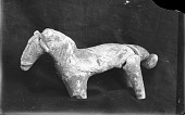 view Pottery Figure of a Horse digital asset: Pottery Figure of a Horse [graphic]