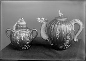 view Ornate Teapot and Sugar Bowl [graphic] digital asset number 1