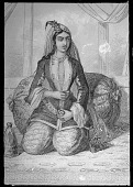 view Seated Woman inside a Harem [graphic] digital asset number 1