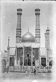 view Qum (Iran): Hazrat-i Ma'suma Shrine Complex: View of the Mirror Iwan [graphic] digital asset number 1