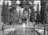 view Tehran (Iran): Kakh-i Gulistan (Gulistan Palace): View from the Garden digital asset: Tehran (Iran): Kakh-i Gulistan (Gulistan Palace): View from the Garden [graphic]