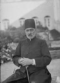 view Portrait of the Mirza Nasrullah Khan-i Na'ini (d. 1907), Known as Mushir al-Dawla digital asset: Portrait of the Mirza Nasrullah Khan-i Na'ini (d. 1907), Known as Mushir al-Dawla [graphic]