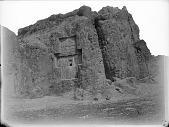 view Naqsh-i Rustam (Iran): Achaemenid Tomb of Xerxes digital asset: Naqsh-i Rustam (Iran): Achaemenid Tomb of Xerxes [graphic]
