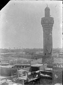 view Baghdad (Iraq): Suq al Ghazl Minaret and View of the City [graphic] digital asset number 1