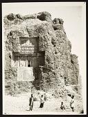 view Naqsh-i Rustam (Iran): Achaemenid Tomb of Xerxes [graphic] digital asset number 1