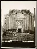 view Hamadan (Iran): Gunbad-i Alaywian: View of Mausoleum's Northeast Facade [graphic] digital asset number 1