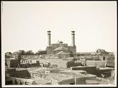 view Qazvin (Iran) :Rear View of Friday Mosque (Masjid-i Jami'-i Qazvin) digital asset: Qazvin (Iran) :Rear View of Friday Mosque (Masjid-i Jami'-i Qazvin) [graphic]