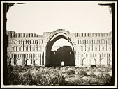 view Ctesiphon (Iraq): Taq-i Kisra (Arch of Khusrow) digital asset: Ctesiphon (Iraq): Taq-i Kisra (Arch of Khusrow) [graphic]