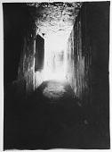view Naqsh-i Rustam (Iran): Achaemenid Tomb of Darius I: Interior View of Vestibule with Vault on Right [graphic] digital asset number 1