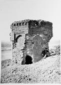 view Shahr-i Ray (Iran): North side of Naqar Khana, Tomb Tower [graphic] digital asset number 1