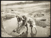 view Two Men Washing Clothes on a Rock [graphic] digital asset number 1