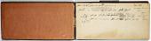 view Ernst Herzfeld Papers, Series 2: Sketchbooks; Subseries 2.01: Persia, 1923: Sketchbook 02 digital asset number 1