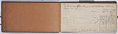 view Ernst Herzfeld Papers, Series 2: Sketchbooks; Subseries 2.01: Persia, 1923: Sketchbook 03 digital asset number 1
