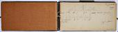 view Ernst Herzfeld Papers, Series 2: Sketchbooks; Subseries 2.03: Persia, Khorasan, 1925: Sketchbook 12 digital asset number 1