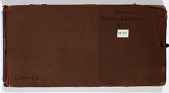 view Ernst Herzfeld Papers, Series 2: Sketchbooks; Subseries 2.04: Persia, Sistan-Quhistan, 1925: Sketchbook 13 digital asset number 1