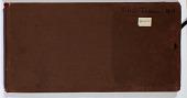 view Ernst Herzfeld Papers, Series 2: Sketchbooks; Subseries 2.05: Persia, Sistan-Tehran, 1929: Sketchbook 14 digital asset number 1