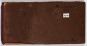 view Ernst Herzfeld Papers, Series 2: Sketchbooks; Subseries 2.06: Persia, Kuh-e Khwaja, 1929: Sketchbook 15 digital asset number 1