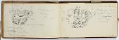 view Ernst Herzfeld Papers, Series 2: Sketchbooks; Subseries 2.08: Split (Croatia): Sketchbook 23 digital asset number 1