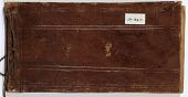 view Ernst Herzfeld Papers, Series 2: Sketchbooks; Subseries 2.09: Measurements: Sketchbook 24 digital asset number 1