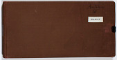 view Ernst Herzfeld Papers, Series 2: Sketchbooks; Subseries 2.12: Antiquities 3: Sketchbook 29 digital asset number 1