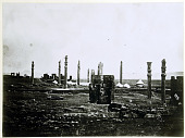 view Persepolis (Iran): Gate of All Lands (Foreground) and Apadana (Background) [graphic] digital asset number 1