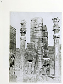 view Persepolis (Iran): Gate of All Lands: Colossal Sculptures Depicting Man-Bull [graphic] digital asset number 1