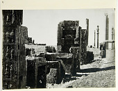view Persepolis (Iran): Northern Wall of the Throne Hall (Talar-i Takht) [graphic] digital asset number 1