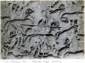view Rayy. Cheshmeh 'Ali. Fath 'Ali Shah hunting digital asset: Firuzkuh (Iran): Qajar Rock Relief Depicting Fath Ali Shah in Royal Hunt [graphic]