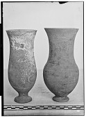 view Vicinity of Nihavand (Iran): Two Ceramic Vessels, from Prehistoric Mound of Tepe Giyan [graphic] digital asset number 1