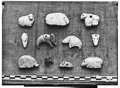 view Baghdad (Iraq) and Constantinople (Turkey): Small Stone Amulets with Animal Design digital asset: Baghdad (Iraq) and Constantinople (Turkey): Small Stone Amulets with Animal Design [graphic]