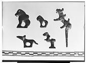 view Vicinity of Nihavand (Iran): Small Bronze Objects with Animal Design, from Prehistoric Mound of Tepe Giyan digital asset: Vicinity of Nihavand (Iran): Small Bronze Objects with Animal Design, from Prehistoric Mound of Tepe Giyan [graphic]