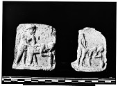 view Hilla (Iraq): Clay Plaques with Human Figures [graphic] digital asset number 1