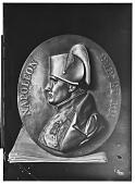view Museum of Shah, Tehran (Iran): Bronze Plaque of Napoleon digital asset: Museum of Shah, Tehran (Iran): Bronze Plaque of Napoleon [graphic]