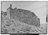 view Excavation of Pasargadae (Iran): Stone Platform of the Tall-i Takht, North Wall digital asset: Excavation of Pasargadae (Iran): Stone Platform of the Tall-i Takht, North Wall [graphic]