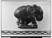 view Sassanid Stone Sculpture Depicting an Elephant (right side) [graphic] digital asset number 1