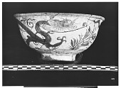 view Persia (Iran): Blue and White Ware with Painted Plants and Dragon digital asset: Persia (Iran): Blue and White Ware with Painted Plants and Dragon [drawing]