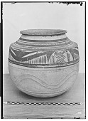 view Vicinity of Nihavand (Iran): Ceramic Vessel with Painted Pattern and Animal Design, from Prehistoric Mound of Tepe Giyan digital asset: Vicinity of Nihavand (Iran): Ceramic Vessel with Painted Pattern and Animal Design, from Prehistoric Mound of Tepe Giyan [graphic]