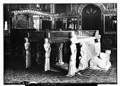 view Tehran (Iran): Gulistan Palace: View of the Marble Throne in the Talar of Imarat-i Takht-i Marmar digital asset: Tehran (Iran): Gulistan Palace: View of the Marble Throne in the Talar of Imarat-i Takht-i Marmar [graphic]