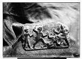 view Clay Plaque with Scene Depicting Royal Fight digital asset: Clay Plaque with Scene Depicting Royal Fight [graphic]