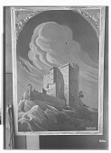 view Painting of Arnstein Castle, from a Perspective Drawing Made by Ernst Herzfeld [graphic] digital asset number 1