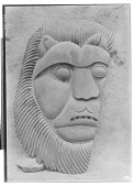 view Wooden Mask Depicting a Lion [graphic] digital asset number 1