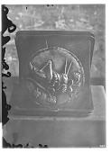 view Bakhtrian Medallion Depicting Locust Devoring Grapes [graphic] digital asset number 1