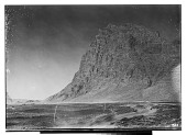 view Bisutun Site (Iran): View of the Limestone Cliff of Bisutun, from the East digital asset: Bisutun Site (Iran): View of the Limestone Cliff of Bisutun, from the East [graphic]